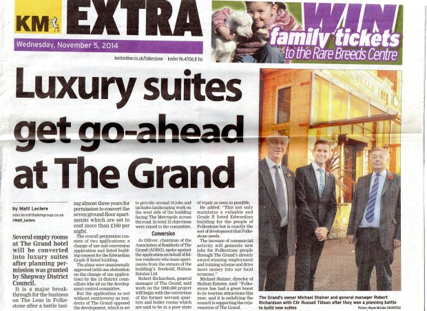 GRAND Permission for apartments